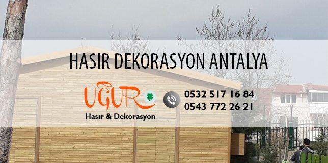 Antalya Hasır Dekorasyon